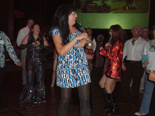Jodi teaches dance